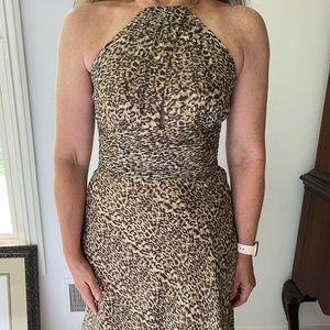 Leopard Laundry by Shelli Segal dress